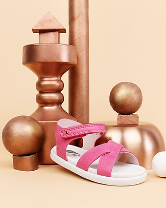 Bobux Sandalino I-Walk Roman, Rosa - Suola super flessibile! Scarpe