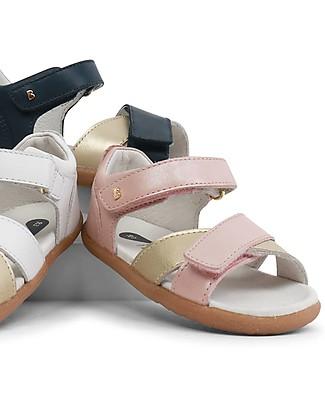 Bobux Sandalino I-Walk Sail, Rosa/Oro - Suola super flessibile! Scarpe