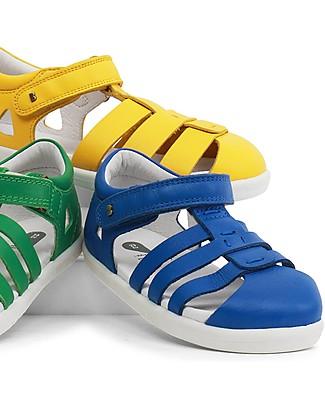 Bobux Sandalino I-Walk Tidal Ragnetto, Zaffiro - Suola super flessibile! Scarpe
