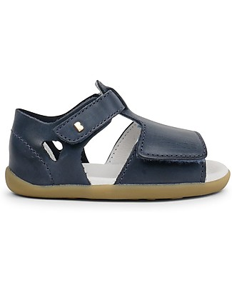 Bobux Sandalino Step-Up Mirror, Blu Navy - Super flessibile, perfetto per i primi passi! Scarpe