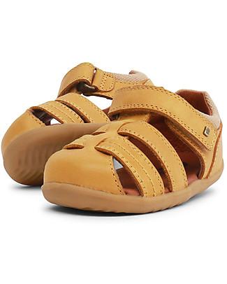 Bobux Sandalino Step-Up Roam Ragnetto, Charcoal – Super flessibile, perfetto per i primi passi! Scarpe