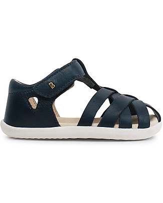 Bobux Sandalino Step-Up Tropicana Ragnetto, Navy - Super flessibile, perfetto per i primi passi! Scarpe