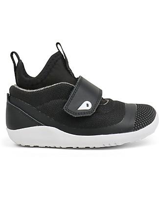 Bobux Scarpina I-Walk Hi Dimension, Nero - Super confort per piedini sempre Attivi! Scarpe