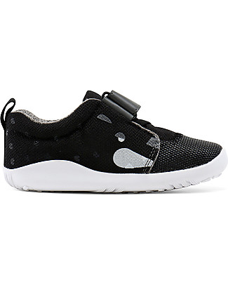 Bobux Scarpina I-Walk Play, Blaze Panther Black - Suola super flessibile! Scarpe