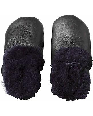 Bobux Scarpina Soft Sole con Pelo, Nero - La cosa migliore dopo i piedi scalzi! Scarpe