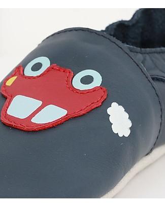 Bobux Scarpina Soft Sole Grande (2-5 anni), Macchina - La cosa migliore dopo i piedi scalzi! Soft Sole Bobux