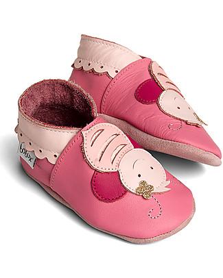 Bobux Scarpina Soft Sole Grande (5-6 anni), Ape Rosa – La cosa migliore dopo i piedi scalzi! Scarpe