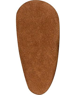 Bobux Scarpina Soft Sole Grande (5-6 anni), Cioccolato con Tigre - La cosa migliore dopo i piedi scalzi! Scarpe