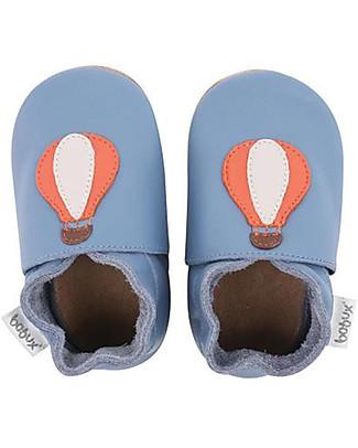 Bobux Scarpina Soft Sole, Palloncini Blu - La cosa migliore dopo i piedi scalzi! Soft Sole Bobux