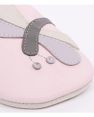 Bobux Scarpina Soft Sole, Rosa-chiaro con Libellula - La cosa migliore dopo i piedi scalzi! Soft Sole Bobux