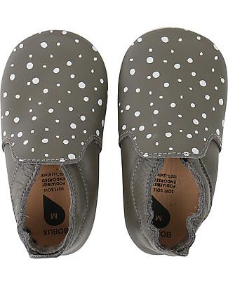 Bobux Scarpina Soft Sole Splash, Grigio Fumo - La cosa migliore dopo i piedi scalzi! Soft Sole Bobux