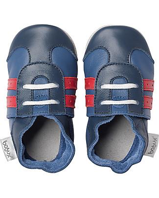 Bobux Scarpina Soft Sole, Sport Blu - La cosa migliore dopo i piedi scalzi! Scarpe