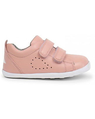 Bobux Scarpina Step-Up Grass Court, Rosa Blush - Super flessibile, perfetta per i primi passi! Scarpe