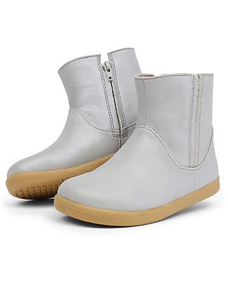 Bobux Stivaletto I-Walk Shimmer, Argento - Per piedini sempre in Movimento!  Scarpe