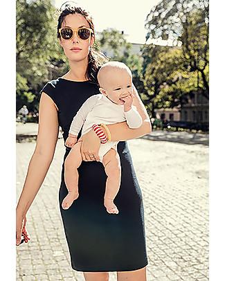 Boob Audrey, Abito Maternità e Allattamento, Nero - Morbida fibra di eucalipto Vestiti