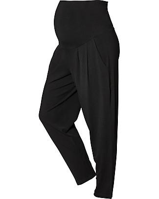 Boob Pantaloni Premaman Harem, Neri - in Fibra di Eucalipto Pantaloni Lunghi