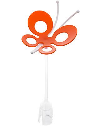 Boon Inc. FLY Farfalla per Grass Tappeto Scolaposate - Arancio (senza BPA, PVC e Ftalati!) Scola Biberon