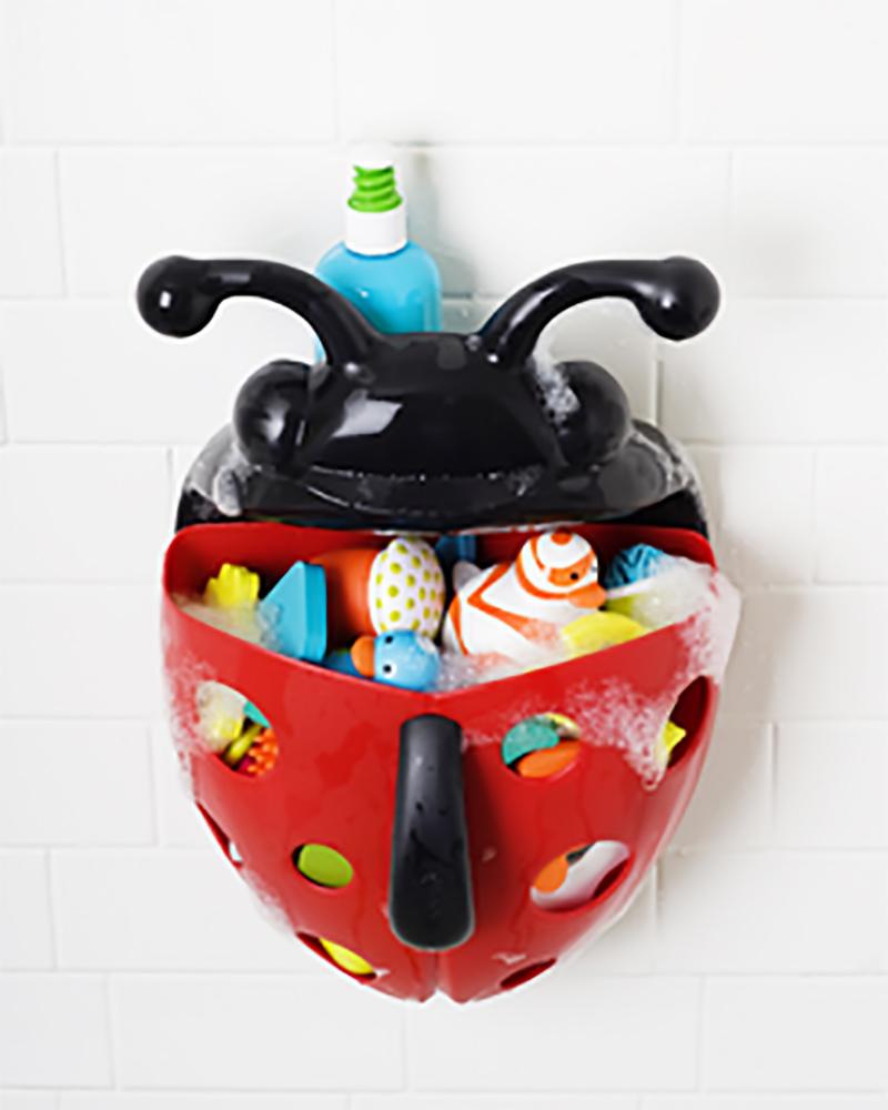 Boon inc bug pod contenitore portagiochi da bagno rosso - Giochi da bagno ...