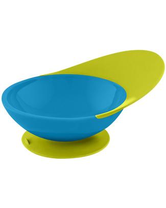 Boon Inc. CATCH Piatto Fondo con ventosa e raccogli cibo - Blu & Verde  Piatti e Scodelle