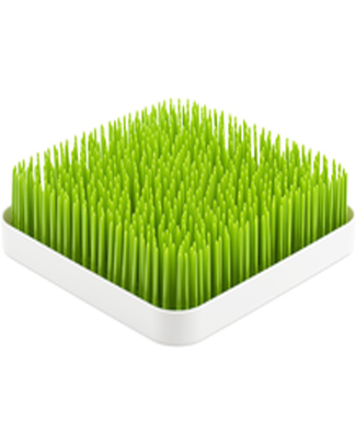 Boon Inc. GRASS Tappeto Scola biberon - Verde (senza BPA, PVC e Ftalati!)  Scola Biberon