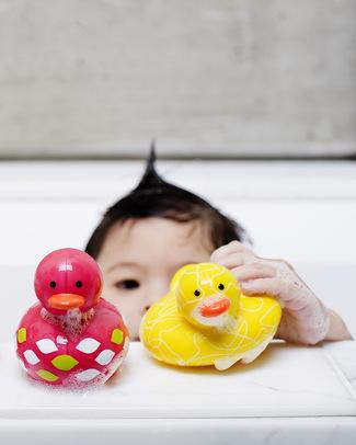 Boon Inc. Odd Ducks - Jane Anatra da Bagno - Muticolor Rosa Giochi Bagno
