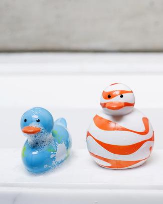 Boon Inc. Odd Ducks - Slim Anatra da Bagno - Muticolor Azzurro Giochi Bagno