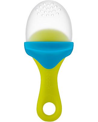 Boon Inc. Pulp, Cucchiaio per Puree - Azzurro e Verde (senza BPA, PVC e Ftalati!) Posate e Bacchette