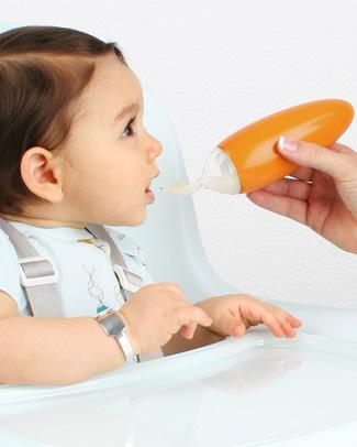 Boon Inc. SQUIRT Cucchiaio Dispenser - Arancione (senza BPA, PVC e Ftalati!) Posate e Bacchette