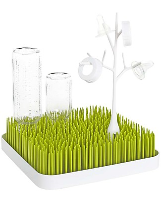 Boon Inc. TWIG Ramo per Grass - Bianco (senza BPA, PVC e Ftalati!) Scola Biberon