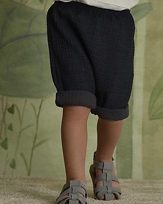 Botanica Boo Pantaloncini, Blu - 100% Garza di Cotone Pantaloni Corti