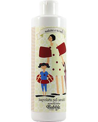 Bubble&CO Bagnolatte Pelli Sensibili Mums&Babies, 200 ml - Delicatissimo, deterge e nutre Detergenza