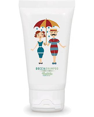 Bubble&CO Doccia Shampo Family, Minitaglia 50 ml - Delicato, idratante Bagno Doccia Shampoo