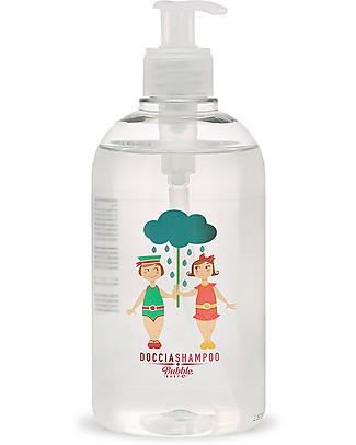 Bubble&CO Doccia Shampoo Baby, 500 ml - Ideale per le pelli più sensibili! Bagno Doccia Shampoo