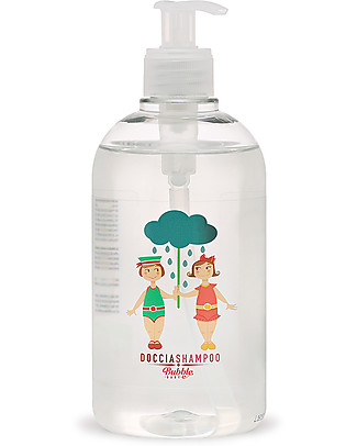 Bubble&CO Doccia Shampoo Baby, 500 ml - Ideale per le pelli più sensibili! Shampoo e Prodotti per il Bagnetto