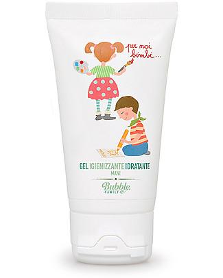 Bubble&CO Igienizzante Idratante Mani, Noi Bimbi 50 ml – Perfetto per le pelli delicate! Salviette