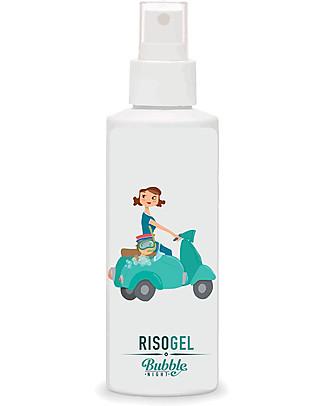 Bubble&CO Risogel Baby, 150 ml – Detergente ultra delicato, 100% bio Bagno Doccia Shampoo