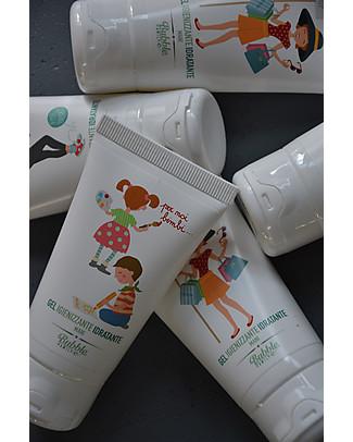 Bubble&CO Igienizzante Idratante Mani, At Work, 50 ml - Perfetto per le pelli delicate! Creme e Olii