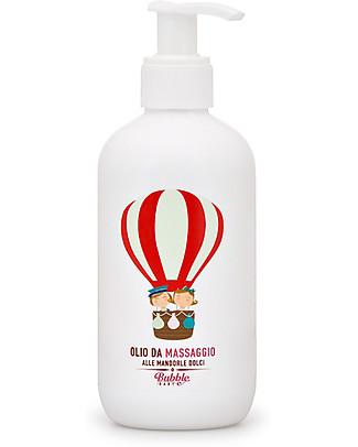 Bubble&CO Olio da Massaggio alle Mandorle Dolci 250 ml - Per tutte le pelli!  Creme e Olii