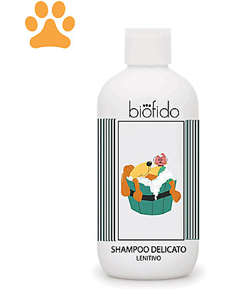 Bubble&CO Shampoo Animali Biofido, 250 ml - Delicato e Lenitivo Animali Igiene