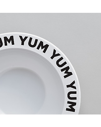 Buddy and Bear Ciotola in Plastica, Yum Yum – 17 cm diametro, senza BPA! Piatti e Scodelle