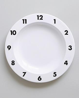 Buddy and Bear Piatto in Plastica, Dinner Time – 23 cm diametro, senza BPA! Piatti e Scodelle