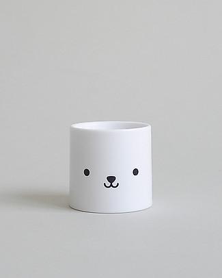 Buddy and Bear Porta Uovo, Bear Face – Plastica infrangibile, senza BPA! Portauova e Misurini