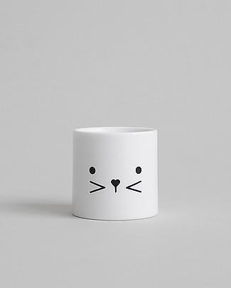 Buddy and Bear Porta Uovo, Bunny Face – Plastica infrangibile, senza BPA! Portauova e Misurini