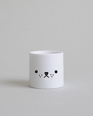 Buddy and Bear Porta Uovo, Little Pup – Plastica infrangibile, senza BPA! Portauova e Misurini