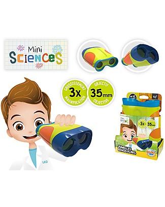 Buki Binocolo Giocattolo - Adatto a bambini dai 4 anni in su! Scienza e Natura