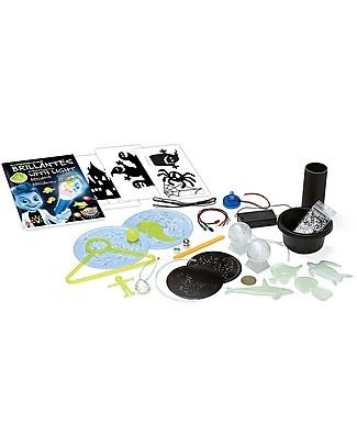 Buki Esperimenti Brillanti, 12 esperimenti per giochi di luci e ombre! Giochi STEM