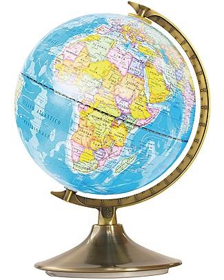 Buki Globo Mappamondo Giorno e Notte - Mappa del cielo e mappa del mondo! Scienza e Natura