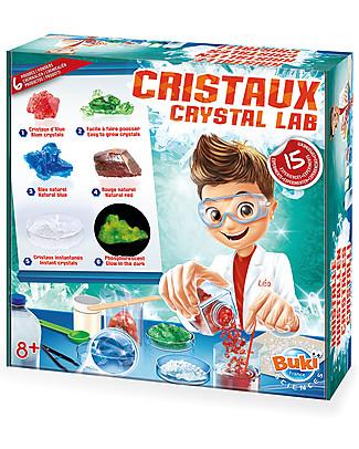 Buki Laboratorio dei Cristalli – Con 15 esperimenti! Scienza e Natura