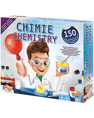 Buki Laboratorio di Chimica - 150 esperimenti con prodotti di uso quotidiano! Scienza e Natura