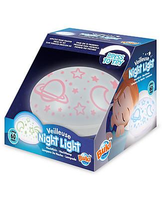 Buki Lampada da notte - Con Timer di 60 minuti! null